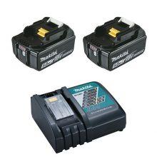 Pack Énergie 18 V Li-Ion 2 batteries 5Ah + 1 chargeur simple 197570-9 Makita