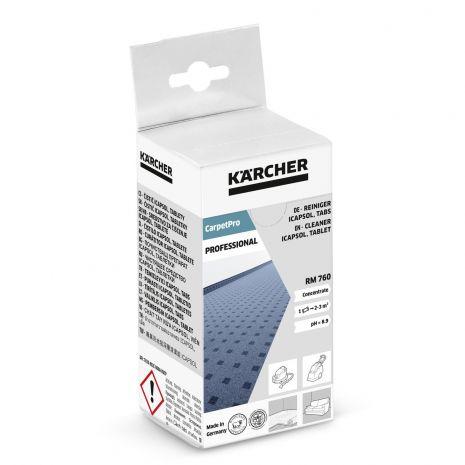 Nettoyant pour moquettes RM 760 CarpetPro en tablettes 16 Pastilles Karcher 6.295-850.0