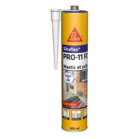 Mastic Colle Polyurethane Sikaflex® PRO-11 FC Purform MARRON 300ml