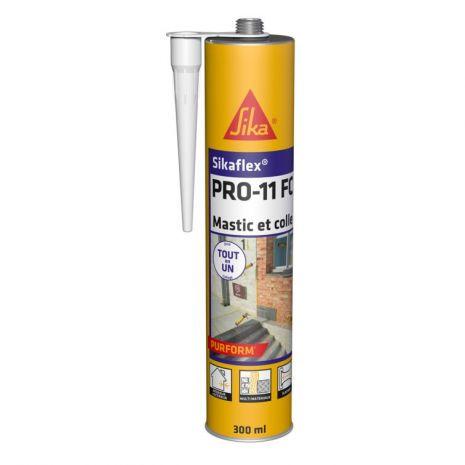Mastic Colle Polyurethane Sikaflex® PRO-11 FC Purform NOIR 300ml