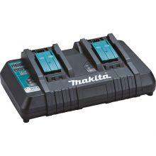 Chargeur rapide Makita 2 batteries Makstar Li-Ion 14,4 à 18V DC18RD