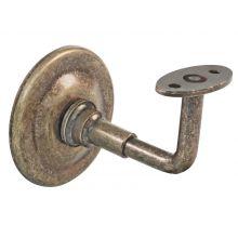 Support de rampe en acier vielli - 19221