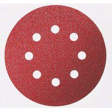 Feuille abrasive C430 ø125 EFW (x5) pour ponceuse Bosch