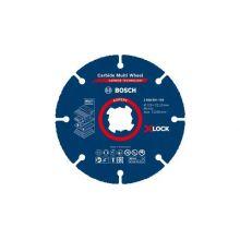 Disque à tronçonner Expert Carbide Multi Wheel X-LOCK 125 mm, 22,23 mm 2608901193 Bosch