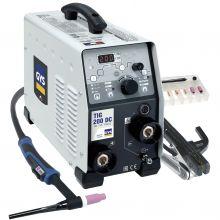 Poste à souder TIG 200 DC FV + accessoires (SR17DB - 4 m) GYS 011540