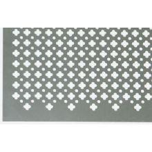 Tôle plate décorée en aluminium 1000x500x0,5 mm