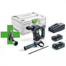Perforateur sans fil BHC 18 HPC 4,0 I-Plus Promo 21 577196 Festool
