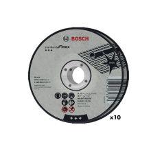 Boite de 10 Disques à tronçonner 125x1.6 inox WA60TBF Bosch