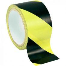 Ruban Adhésif danger jaune noir 50x33m