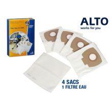 Sachet de 4 sacs pour aspirateur Aero 21 + filtre eau