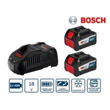 Pack 2 batterie GBA 18V 6,3Ah EneRacer + chargeur GAL 1880 CV Bosch