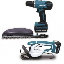 Ensemble de 2 machines 14,4 V Li-Ion 1,3 Ah (DF347D + UM165D)Makita