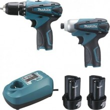 Ensemble de 2 machines 10,8 V Li-Ion 1,3 Ah (DF330D + TD090D)Makita