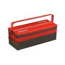 Boîte à outils métallique 5 cases grand volume BT.13GPB