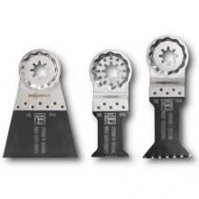 Set de 3 lames de scie E-Cut Combo