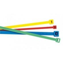 Collier polyamide 3.6x140 ral 6032 vert