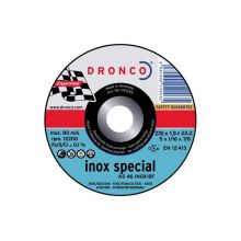 disque a tronconner 230x1,9 bombè as46t inox special