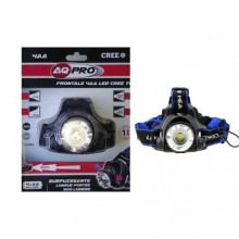 Lampe frontale LED CREE 4AA - T6