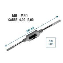 Porte-taraud 030 375mm M5-M20 Izar