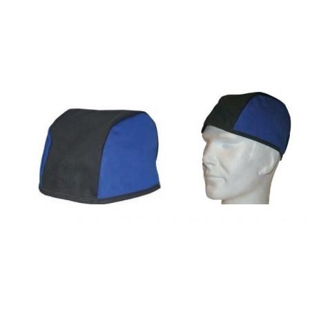 Bonnet de protection en tissu pour travaux de soudage et meulage
