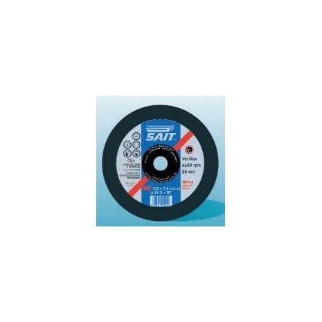 Disque à meuler BF/DS A24N SAIT (125 x 6.0 x 22.23)