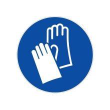 Disque obligation de porter des gants