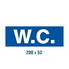 Panneau rigide WC 200x52 mm