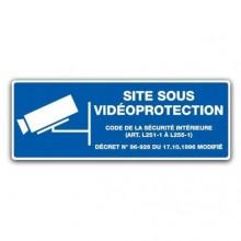 panneau site sous vidèoprotection