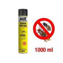 Bombe aérosol foudroyant guêpes et frelons 1000 ml JELT