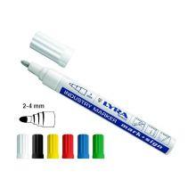 Marqueur peinture laquée Lyra Mark Sign pointe 2-4 mm Blanc