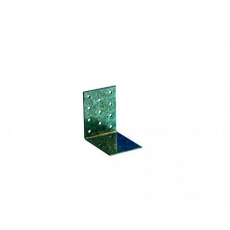 Equerre simple acier galvanise 60x60x60x2,5 mm