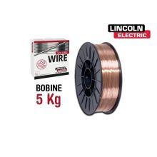 Bobine 5kg de fil MIG/MAG pour acier doux Ultramag ø 1,0 mm