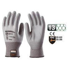 Gant tricot anticoupure Taeki 5 - paume enduite nitrile