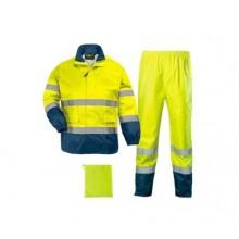 Ensemble de pluie jaune haute visibilité Hi-Way Rainsuit