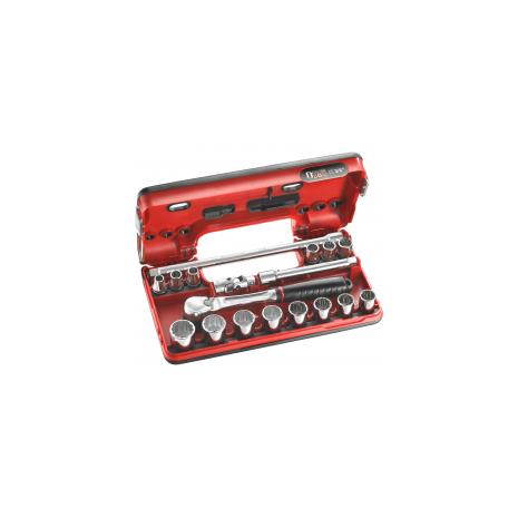 Facom JL.DBOX112 Coffret Douilles 3//8 12P-18Pc