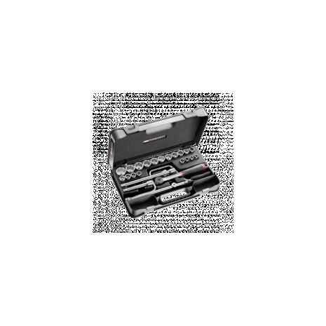 f9a74690f1c00 Coffret douil 1 2  6p mm s.161b 23pc s.161-3p6 Facom - OUTILS.FR