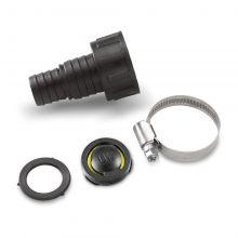 """Adaptateur 1"""" (25,4mm) / 3/4"""" (19mm) avec clapet anti-retour pour sortie G2 Karcher 6.997-359.0"""