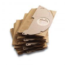 Sachet filtre papier WD 2 & WD 2 & A 20xx (5 pcs) Karcher 6.904-322.0