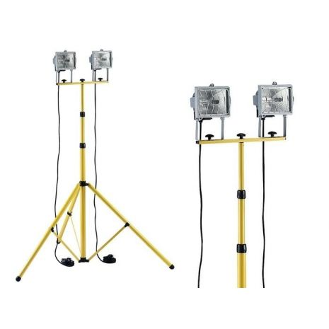 Projecteur Duo Lampe 400w Telescopique Outils Fr