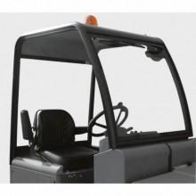 Toit de protection pour le conducteur avec gyrophare