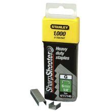 Agrafes 12mm type g - boite de 5000pcs 1-tra708-5t Stanley