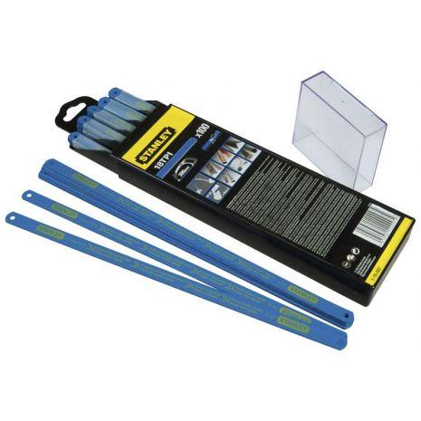 Lame De Scie A Metaux - Carte 5 Lames Hss Bimetal Laser 10 D Stanley 2-15-558