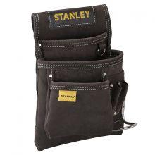 Porte-Outils et porte-marteau cuir simple Stanley STST1-80114