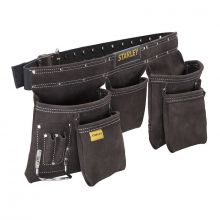 Porte-Outils cuir double ceinture Stanley STST1-80113