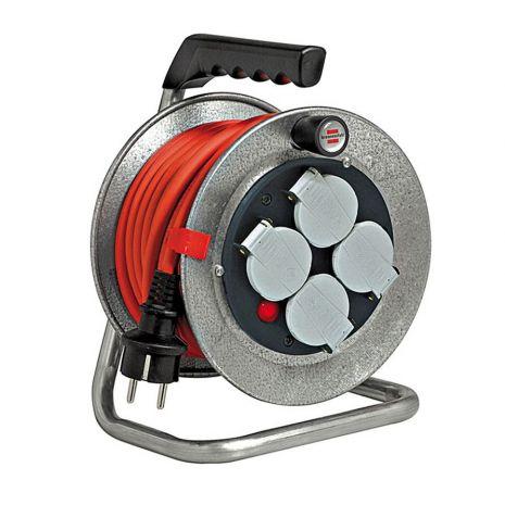 Enrouleur de câble Silver Baby IP44 10m H07RN-F 3G1,5 Brennenstuhl