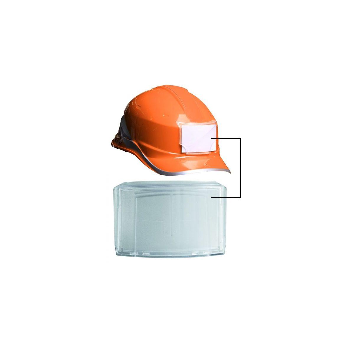cheap sale the latest factory authentic Porte badge adhésif pour casque de chantier 85x 54 mm