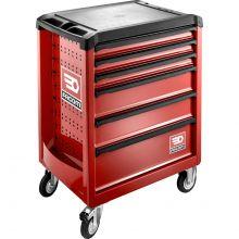 Servante Roll M3 6 tiroirs rouge ROLL.6M3 Facom
