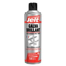 Bombe galva Brillant galvanisation à froid finition brillant 500 ml Jelt 005811