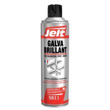 Bombe galva Brillant galvanisation à froid finition brillant 500 ml Jelt 005811