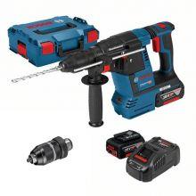 Perforateur sans-fil GBH 18V-26 F 2 x 6,0Ah en L-BOXX 0615990K5B Bosch